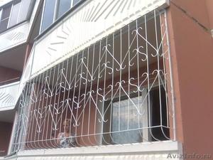 Решётки на окна и двери с полимерным покрытием - Изображение #2, Объявление #1458796