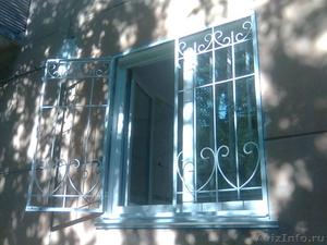 Решётки на окна и двери с полимерным покрытием - Изображение #1, Объявление #1458796