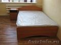 Кровать двуспальная с матрасом на пружинном блоке 1600х1950. НОВАЯ