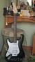 Необычная гитара для леворуких под заказ из Москвы