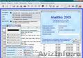 Analitika 2009 - Бесплатный программный продукт для управления компанией