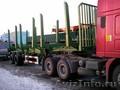 Лесной полуприцеп марки WANSHIDA грузоподъёмность 30 тонн