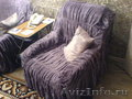 Продам диван раскладной и 2 кресла Б\У с чехлами.