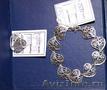 Продам комплект  ювелирных украшений (браслет и кольцо) из серебра  925 пробы...