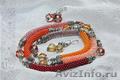 Стильные авторские бусы,  колье,  кулоны и ожерелья