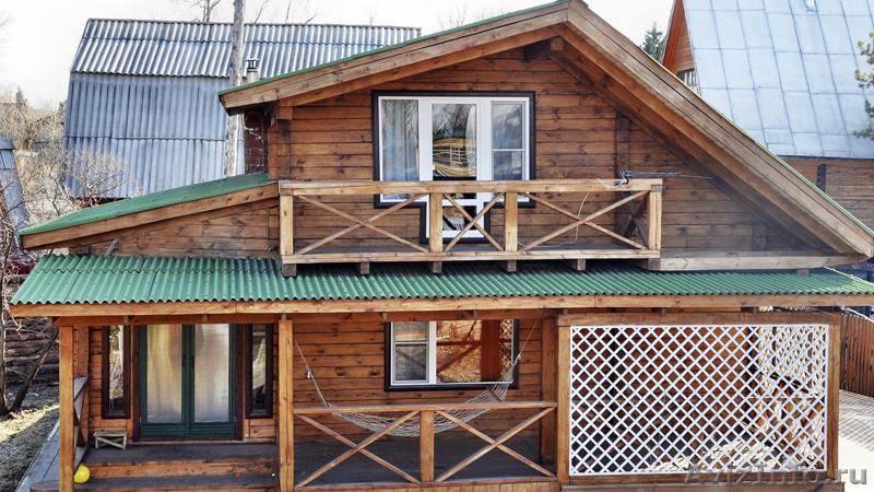 Как сделать балкон на дачном домике.