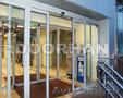 Алюминиевые распашные и маятниковые двери
