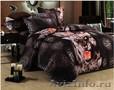 Яркое,  качественное постельное белье 3D (сатин) с животными