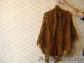 Продам новую вязаную женскую ажурную косынку с кистями ручная работа ш