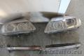Фары ксенон оптика на AUDI Q7 c ресничками повторителями