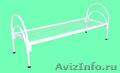 Металлические кровати с ДСП спинками для больниц, кровати для гостиниц. оптом - Изображение #2, Объявление #1480291